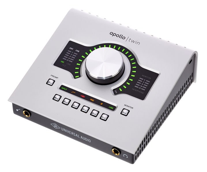 ow To Choose The Best Audio Interface As A Voiceover UA Apollo twin