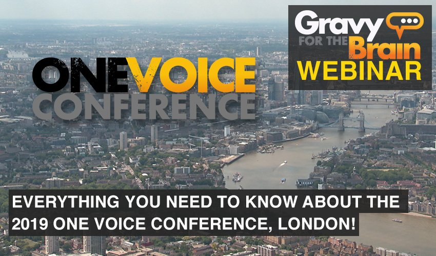 One Voice Conference 2019 Preview